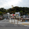 Ofuna Kannon located in Kamakura (Kanagawa Prefecture). You get here by taking the JR Line tot he Ofuna Station. The temple is located right across the street from the station entrance/exit.