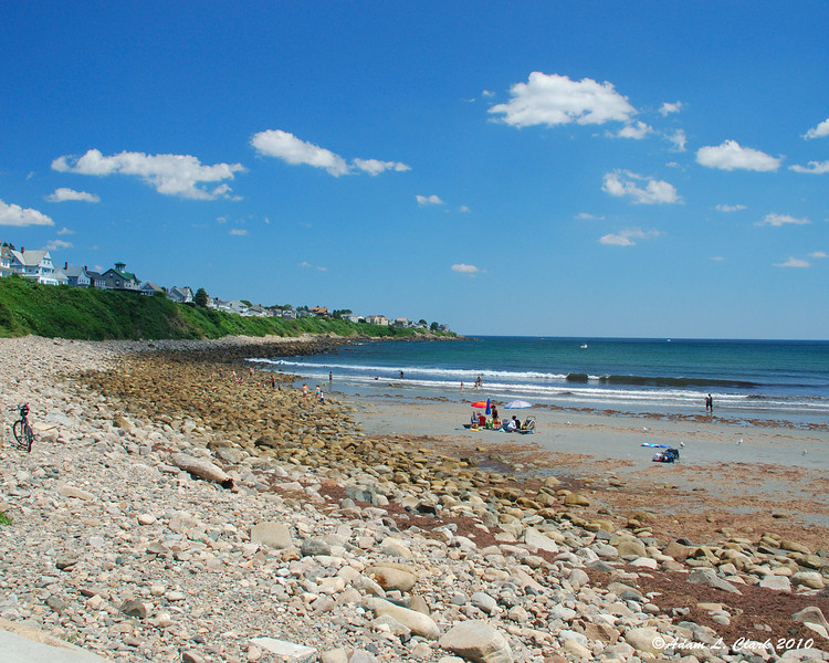 The North end of the beach