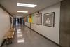 Founders College interior hallway first floor.