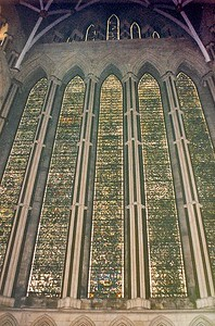 Grisaille York Minster York England - Jun 1996