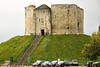 Clifford's tower, (York castle)