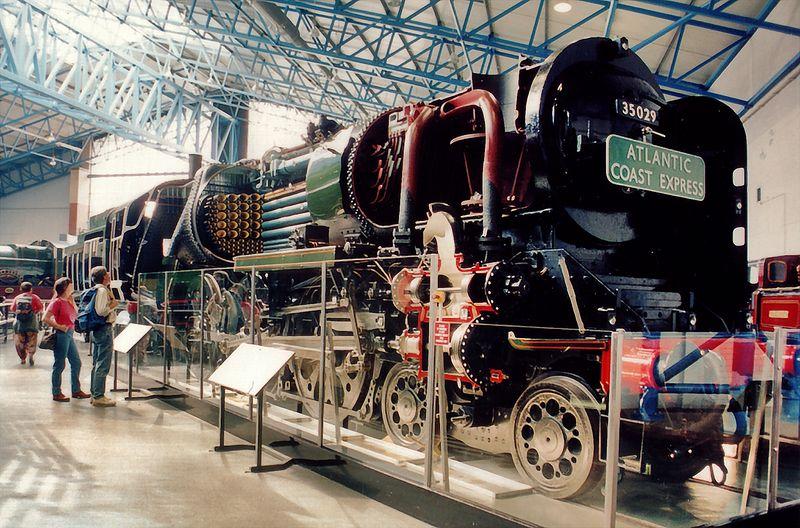 Atlantic Coast Express National Railway Museum York England - Jun 1996