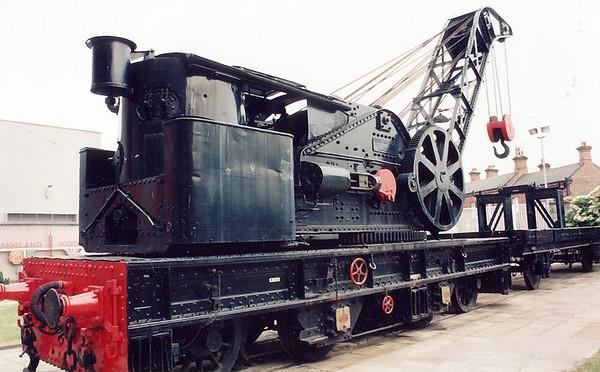 Work locomotive National Railway Museum York England - Jun 1996