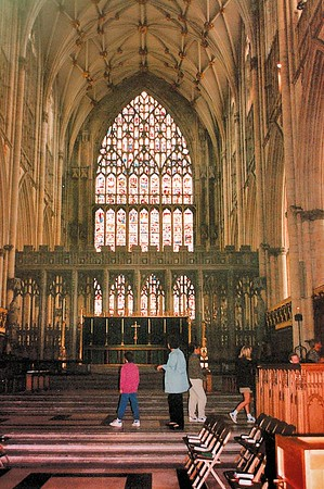 West transept York Minster York England - Jun 1996