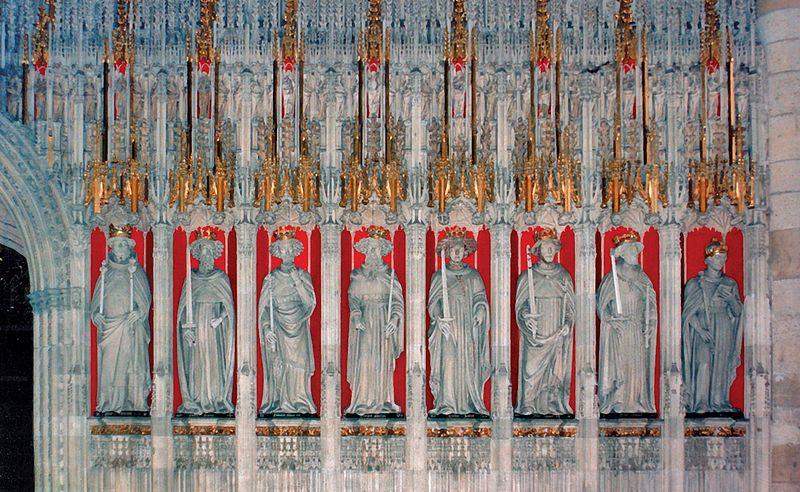 Kings of England York Minster York England - Jun 1996