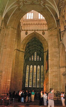 Looking towards the Grisaille York Minster York England - Jun 1996