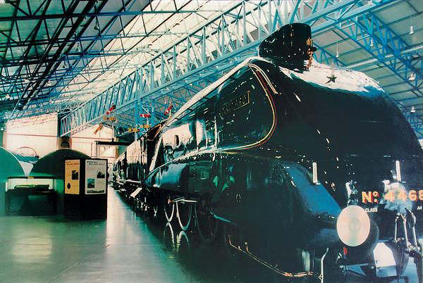 Nunber 4468 National Railway Museum York England - Jun 1996