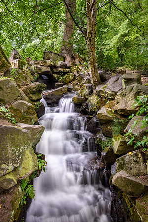 Endcliffe Park Waterfall #2