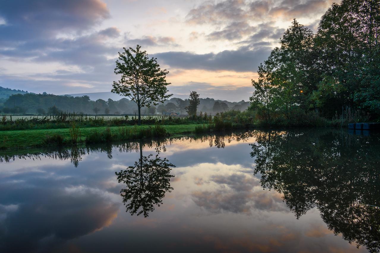 Castleton pond, Peak District