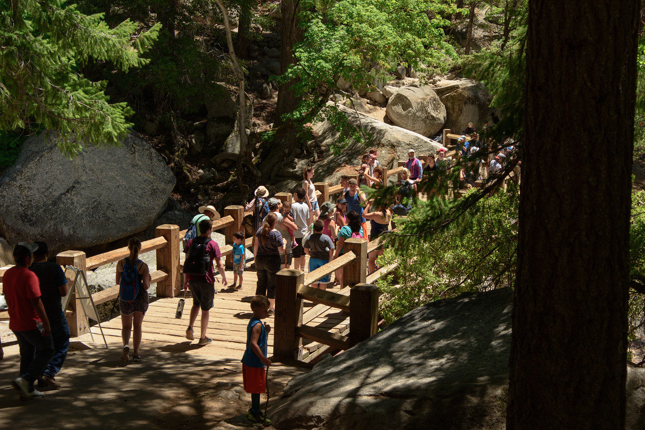 Vernal Falls Footbridge