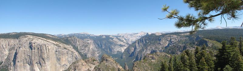 Yosemite Valley from Dewey Point