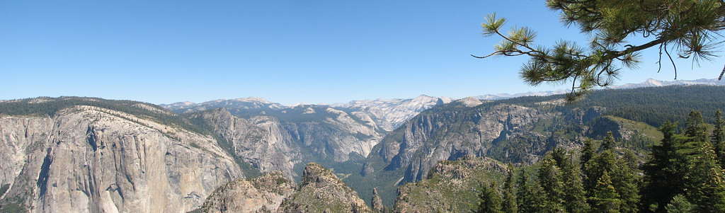Yosemite Valley from Dewey Point