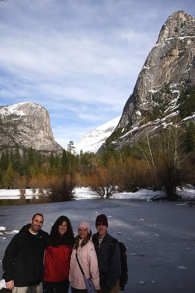 Mike, Nicole, Janine and I at Mirror Lake