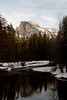 Half Dome from Sentinel Bridge.
