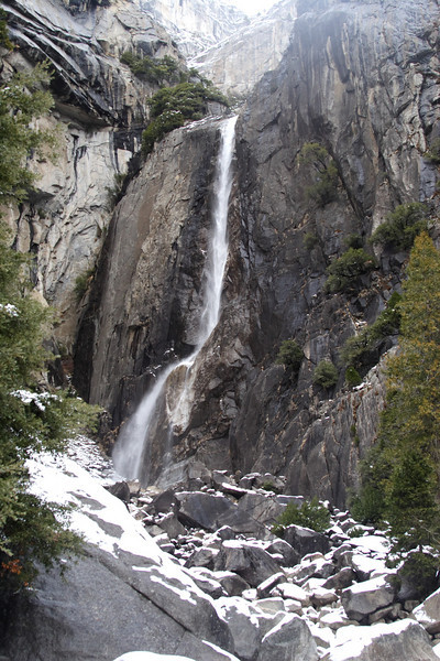 Lower Yosemite Falls. This is where I asked Janine to marry me.  (She said she would!)