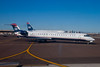 I flew US Airways from Austin to Oakland. The first leg of the flight, from Austin to Phoenix was on a smaller jet exactly like this one outside my window in Phoenix.