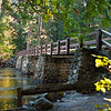 Foot bridge at Housekeeping Camp.