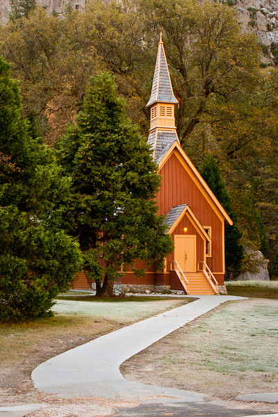 Chapel, built in 1879, moved to this location in 1901.