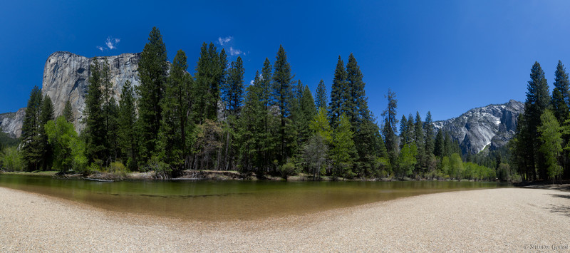 Cathedral Beach Pano - Yosemite