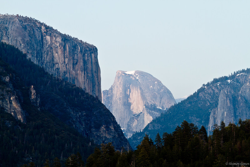Half Dome from afar - Yosemite