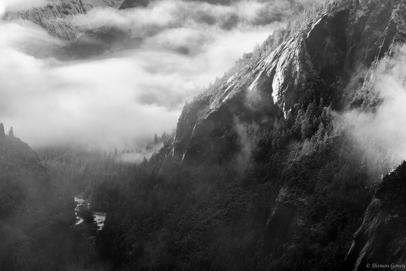 Morning Mist - Yosemite