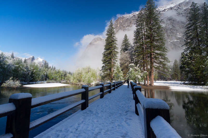 Swinging Bridge - Yosemite