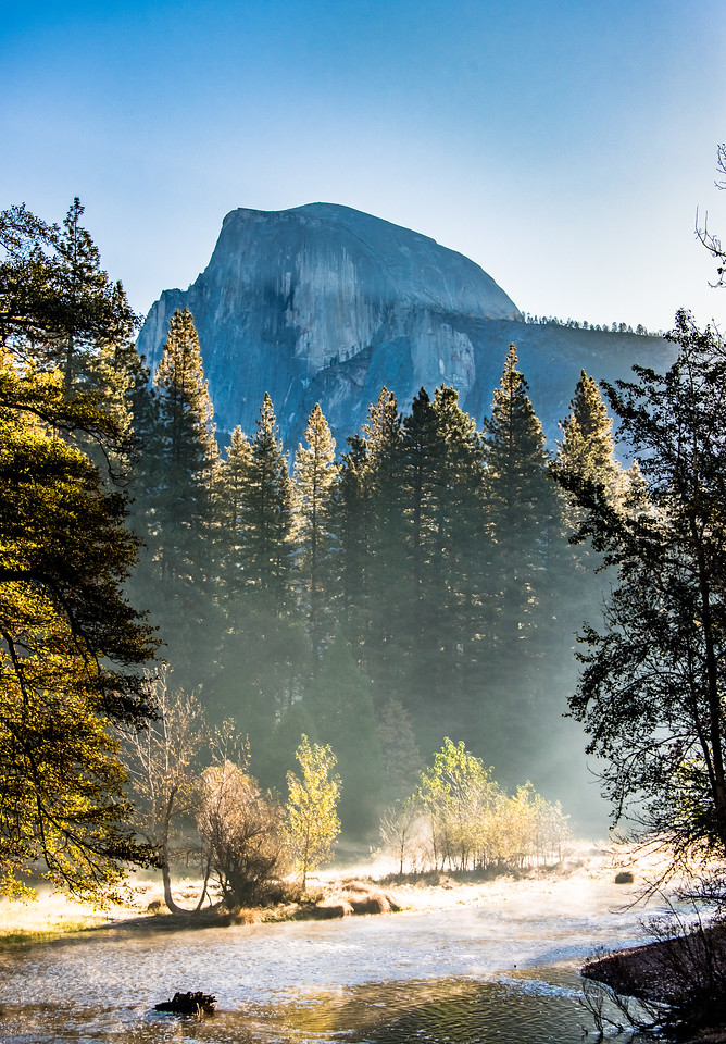 Half Dome at Dawn