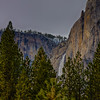 Upper Yosemite Fall Through Trees