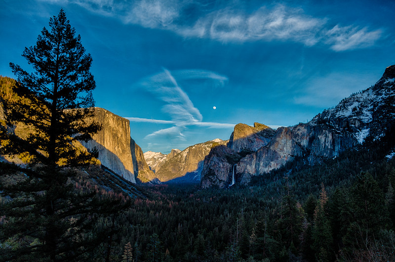 Tunnel View Sunset