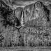 B&W Upper Yosemite Fall