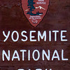 Yosemite Entrance Sign