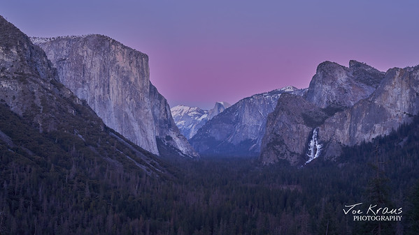 Purple Sunset over Inspiration Point