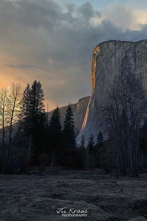 Ansel's View - El Cap at Sunest II