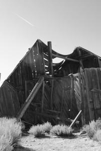 Minor state of disrepair.  Bodie Ghost Town-Eastern Sierras