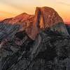 Half Dome Sunset from Glacier Point