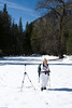 My photographers assistant.  Louise is always a great help.  When we stop for a picture she takes my pack so that I can get the gear out of it.  She doesn't seem to mind.  She tells me that she just likes standing there quietly and soaking in the natural beauty that surrounds us.