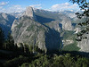 Half Dome, Vernal and Nevada Falls from Glacier Point