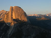 Half Dome from Glacier Point near sunset.