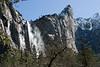 Approaching Bridalveil Falls