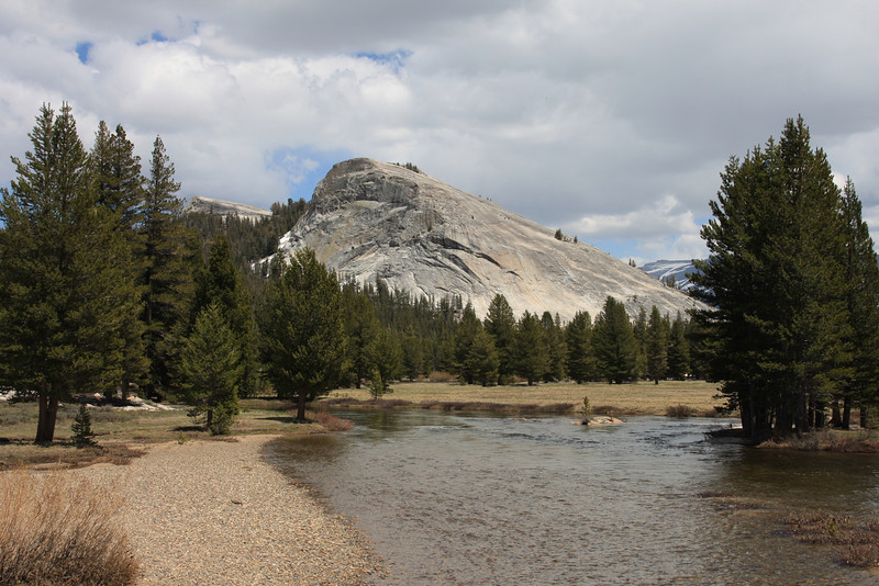 Lembert Dome in Tuolumne Meadows.  The hike to the top is fairly easy and straightforward.