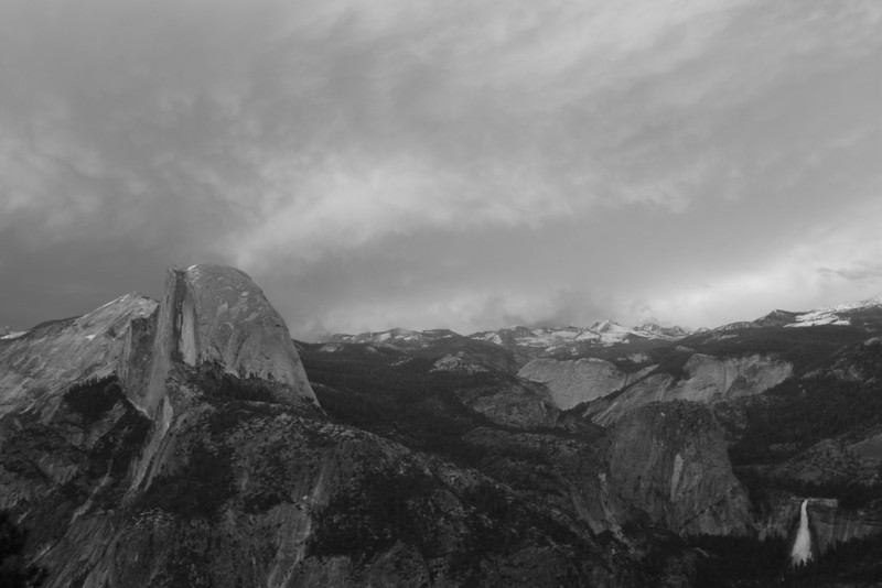 From Glacier Point