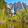Yosemite Falls, on the way to the 4-mile trail.