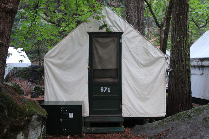 The week's accommodations