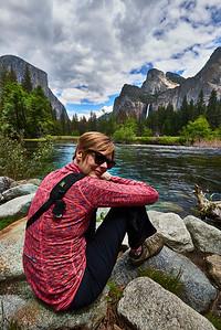 Yosemite   May 26, 2016 - Thursday - Yosemite - Base of lower Yosemite falls, valley views, Sentinel Dome  - Glacier Point  Credit- Robert Altman