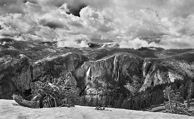 Yosemite   May 26, 2016 - Thursday - Yosemite - Base of lower Yosemite falls, valley views, Sentinel Dome  - Glacier Point   Credit- Robert Altman