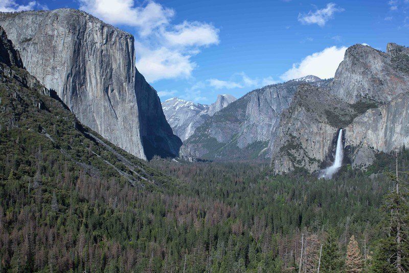 Tunnel View Afternoon