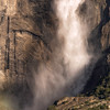 Yosemite Falls Closeup