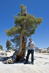 Larry at Olmsted Point, Yosemite