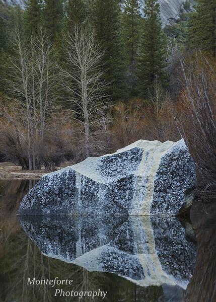 Mirror lake Yosemite National Park Ca