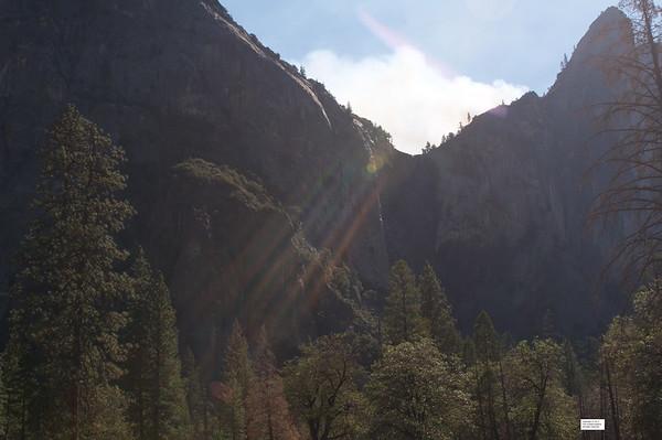 Sun streaks